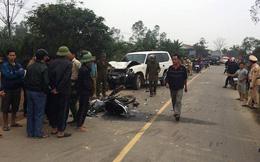 Xe ủy ban huyện va chạm với xe máy làm 3 người tử vong trên quốc lộ