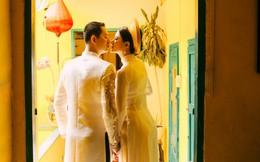 Trang Trần hạnh phúc khi được ông xã Việt kiều ôm hôn tình cảm