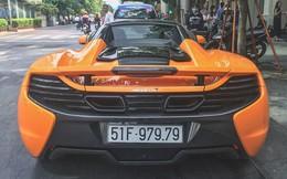 McLaren 650S Spider từng của Minh Nhựa tái xuất trên đường phố Sài Gòn