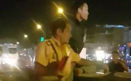 Tài xế đánh liên tiếp CSGT Đồng Nai khi xảy ra tai nạn