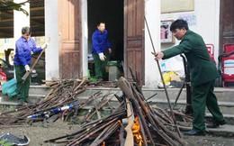 Biên phòng Nghệ An tiêu hủy gần 300 khẩu súng các loại