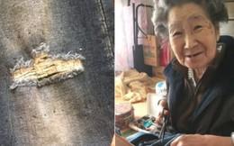 Thấy quần bò rách của cháu gái, bà ngoại Nhật Bản làm một việc khiến ai nghe chuyện cũng vô cùng xúc động