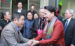 Chủ tịch Quốc hội chúc mừng giáng sinh giáo dân Giáo phận Thanh Hóa