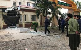Cây ATM cạnh trường Cao đẳng Du lịch Nghệ An nổ tan tành trong đêm