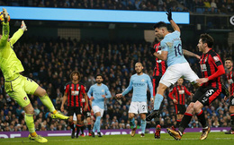 Aguero vượt mốc lịch sử, Pep Guardiola ghếch chân cười khẩy cả Premier League