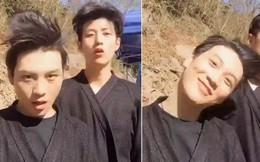 """Hai trai đẹp và clip """"vũ điệu sạch gàu"""" vừa đăng đã cực hot trên Facebook"""