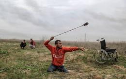 7 ngày qua ảnh: Người tàn tật Palestine biểu tình ném đá đáp trả binh sĩ Israel