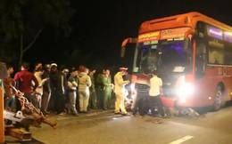 Va chạm với xe khách Phương Trang, 2 công nhân chết thảm dưới gầm xe