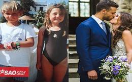 Như duyên tiền định, cặp vợ chồng trẻ bất ngờ phát hiện họ đã 'hẹn hò' từ 6 tuổi
