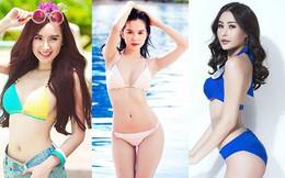 """4 mỹ nhân Việt cạnh tranh """"vòng eo 56"""" với Ngọc Trinh"""