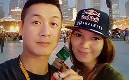 Nhan sắc cô vợ lai Pháp xinh đẹp, kém 14 tuổi của MC Anh Tuấn
