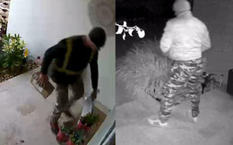 Hàng giao đến nhà chưa kịp nhận đã bị lấy cắp, cô gái tá hỏa phát hiện kẻ trộm lại chính là người này