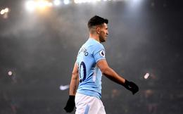 Chiến binh Sergio Aguero là sự khác biệt giữa Man City và Man United