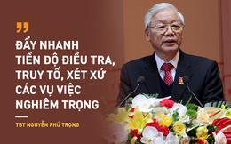 Tổng Bí thư Nguyễn Phú Trọng: Loại bỏ những người tham nhũng, hư hỏng ra khỏi bộ máy