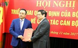Ông Trần Sỹ Thanh nhận quyết định giữ chức Phó Trưởng Ban Kinh tế T.Ư