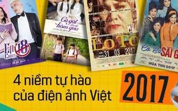 """Năm 2017, đây là 4 bộ phim đã """"cứu vớt"""" lòng tin của khán giả vào điện ảnh Việt Nam!"""