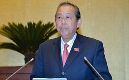 Phó Thủ tướng Trương Hòa Bình: 'Ai tư duy nhiệm kỳ thì không xứng đáng làm cán bộ'