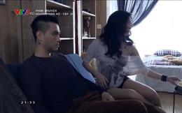 """Bạn gái Phan Hải gây tranh cãi khi toàn mặc hở hang trong phim """"Người phán xử"""""""