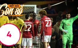 Con số biết nói: Người hùng hay cười cứu rỗi Man United