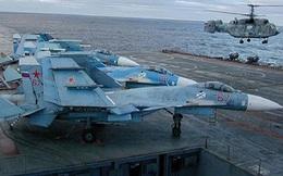 """Tham chiến tại Syria 2 tháng, vì sao Nga rút """"Đô đốc Kuznetsov"""" về nước?"""