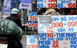 Thị trường SIM kích hoạt sẵn im ắng, ảm đạm