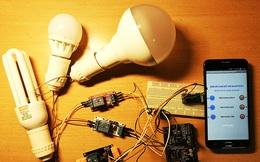 Hướng dẫn làm công tắc thông minh, bật tắt đèn bằng smartphone siêu đơn giản