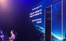 Samsung Galaxy S8 có giá chính thức 18,49 triệu, lên kệ từ 5/5