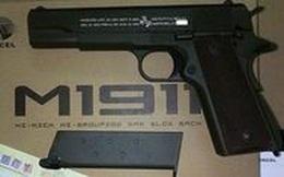 Bắt giữ nhóm đối tượng thuê xe ô tô, dùng súng đi trộm cắp liên tỉnh