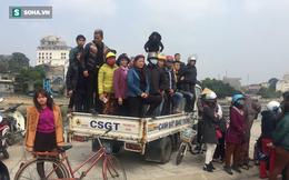 2 chị em tử vong dưới gầm xe bồn, dân leo kín xe CSGT theo dõi