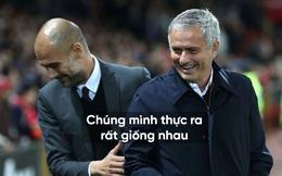 """Là kình địch """"không đội trời chung"""", nhưng Mourinho và Pep lại giống nhau đến kỳ lạ"""