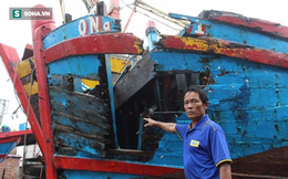 Lộ diện thủ phạm đâm chìm tàu cá ngư dân trên biển Đà Nẵng