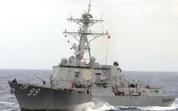 Tàu khu trục của Hải quân Mỹ đã bắn cảnh cáo bốn tàu Iran