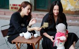 Phan Như Thảo đưa con gái ra Hà Nội thăm bạn thân - siêu mẫu Ngọc Thạch