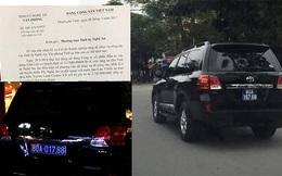 Tỉnh uỷ Nghệ An báo cáo chiếc xe sang tiền tỷ thứ 2 do doanh nghiệp tặng