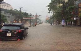 Thái Nguyên: Mưa lớn gây ngập nặng, điều xe chuyên dụng của quân đội đến giúp dân