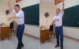 Clip thầy giáo Sư Phạm múa trên bục giảng hút triệu lượt xem