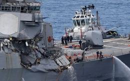 Đâm hỏng tàu khu trục Mỹ, chủ tàu hàng phải bồi thường 2 tỷ USD?