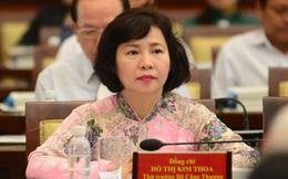 Thứ trưởng Hồ Thị Kim Thoa bị cảnh cáo và đề nghị miễn nhiệm chức vụ