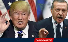 """Mỹ-Thổ Nhĩ Kỳ rạn nứt: Cú """"ăn miếng trả miếng"""" đanh thép của 2 đồng minh chiến lược lâu năm"""