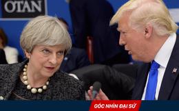 """""""Khẩu chiến"""" giữa ông Trump và bà Thủ tướng Anh Theresa May: Cơn bão trong cốc nước!"""