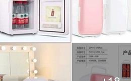 """Tủ lạnh """"siêu"""" mini giá rẻ chỉ từ 400 nghìn đồng rao bán rầm rộ trên mạng"""