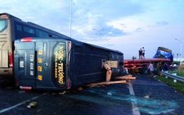 Tai nạn liên hoàn trên cao tốc, 5 người bị thương nặng