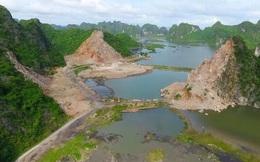 Dừng việc xây dựng kèm tận thu tài nguyên đá trong vùng đệm vịnh Hạ Long