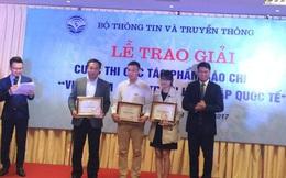 """Trao giải 17 tác phẩm báo chí đoạt giải """"Việt Nam - quá trình hội nhập quốc tế"""""""