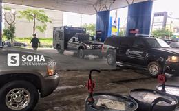 """Cadillac One của tổng thống Mỹ """"uống"""" 110 lít xăng A95 trong ngày đầu đến Đà Nẵng"""