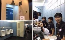 """Trước trận quyết đấu, đội bóng nữ bị chủ nhà SEA Games Malaysia """"mời"""" vào nhà vệ sinh nam"""