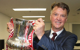 Van Gaal tiết lộ suy nghĩ lạ về danh hiệu duy nhất cùng Man United