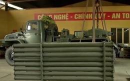 Dụng cụ hỗ trợ tháo đạn pháo BM-21