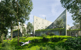 """Cận cảnh văn phòng mới của Viettel vừa được vinh danh """"Dự án tương lai"""" tại Liên hoan kiến trúc quốc tế"""