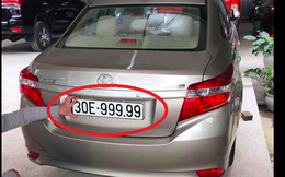 """2 ô tô mang biển số """"siêu vip"""" 99999: Vì sao xe Lexus hiện có biển mới?"""